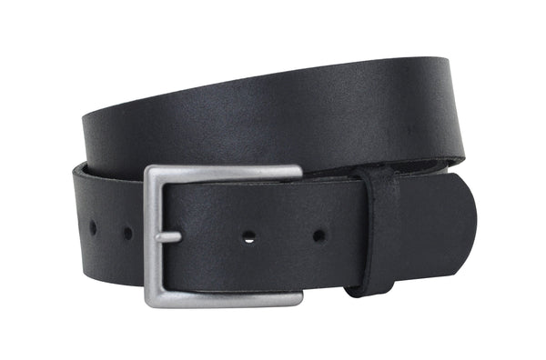 Basic Leather Belt with Removable Buckle