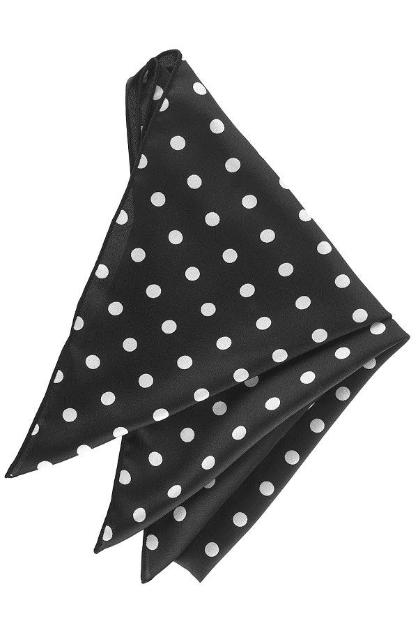 Solid Polka Dot Neckerchief