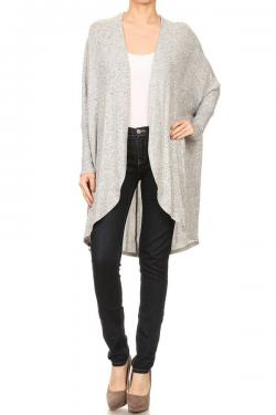 Cozy Open Front Cardigan