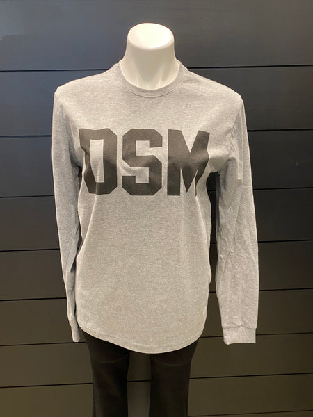 DSM Codeword Grey Long Sleeve T-Shirt