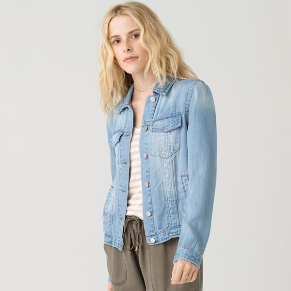 Denim Light Sandblasted Jacket