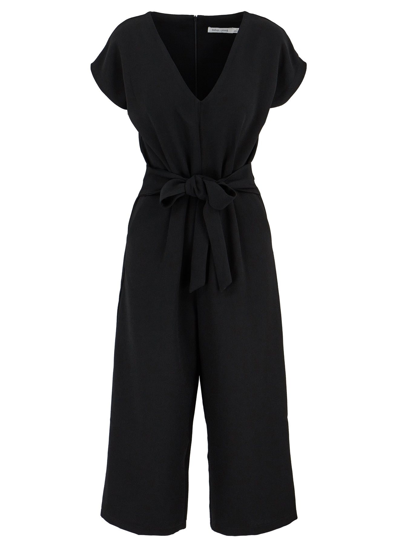 Black Wide Leg Jumper