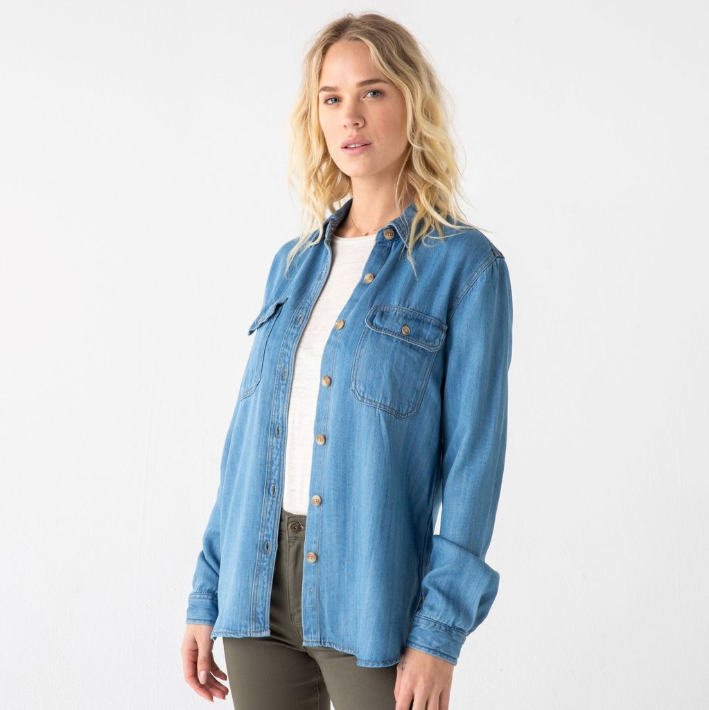 Medium Denim Shirt Jacket