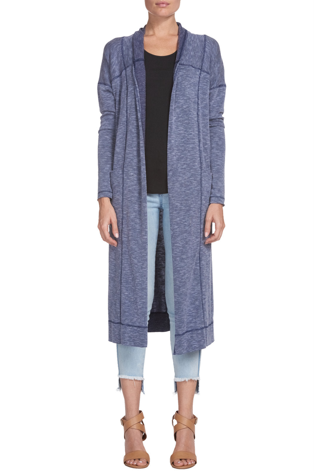 Fine Ribbed Duster Cardigan