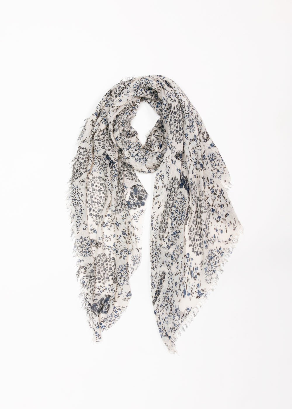 Floral Paisley Long Scarf