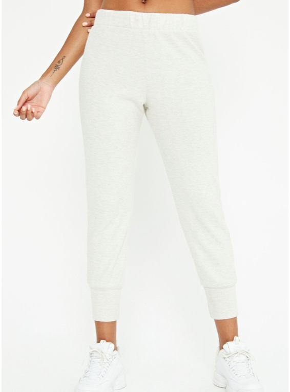 Oatmeal Cozy Jogger Pants