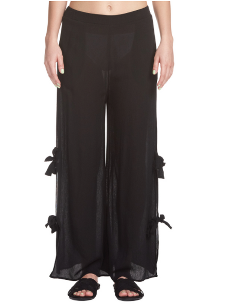 Lounge Pants with Tie Sides