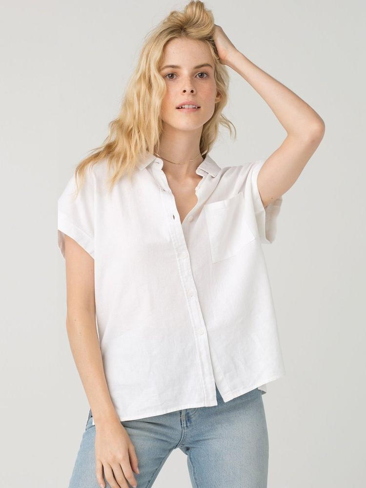 Short Sleeve Button Up Casual Shirt