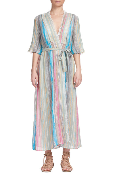 Multi Stripe Coverup