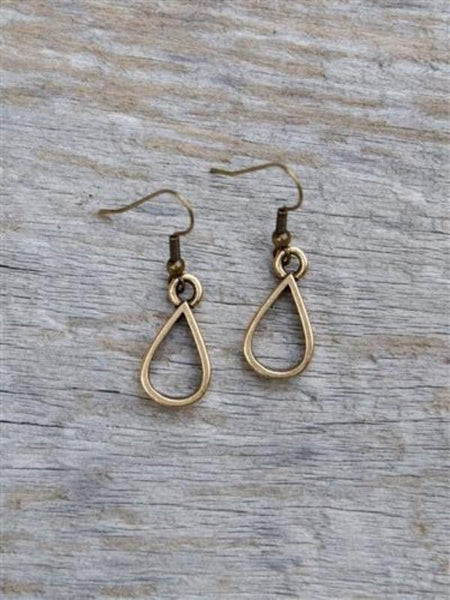 Small Teardrop Earrings