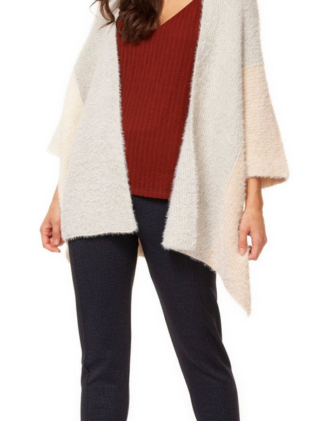 Color Block Cardigan Sweater