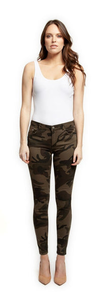 Camouflage Super Skinny Pants