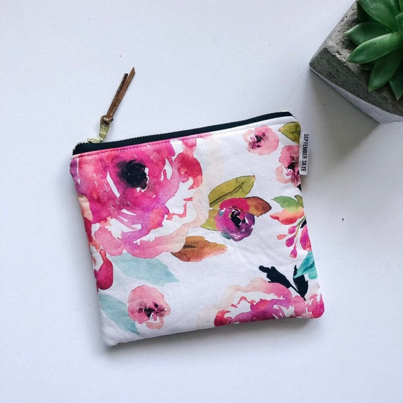 Large Fabric Pouch