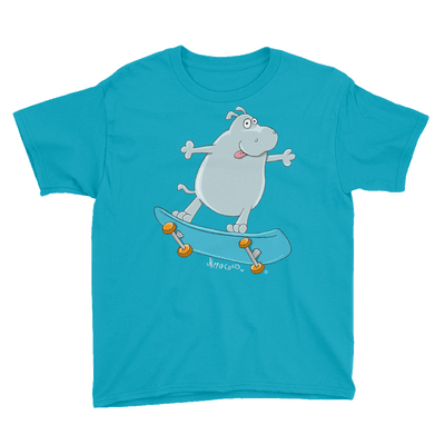 Skateboarder Boy's T-Shirt