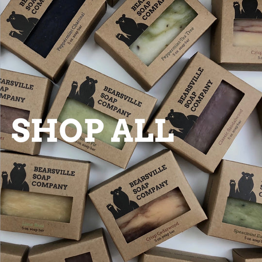 best soaps for men by Bearsville Soap Company