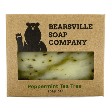 peppermint tea tree soap for men