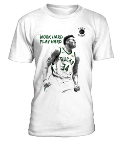 T-Shirt Antetokounmpo - Work Hard