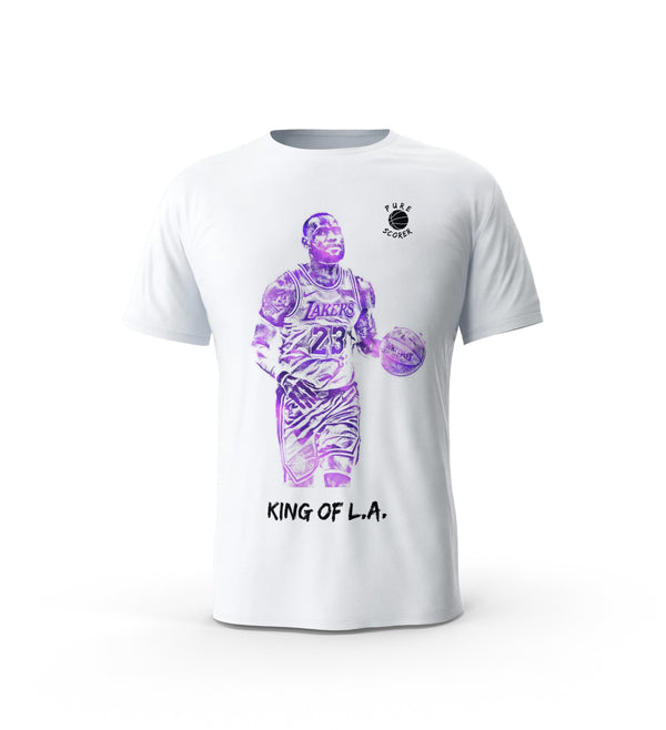 T-Shirt Lebron - King of L.A.