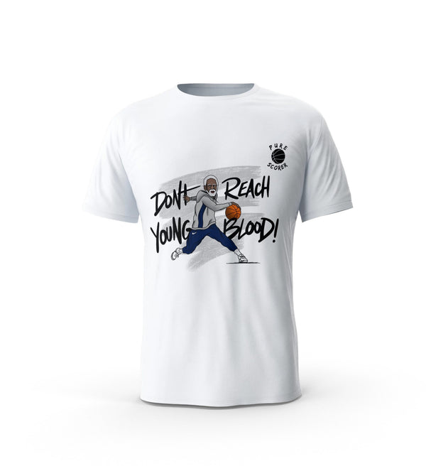 T-Shirt Uncle Drew - Don't reach young blood