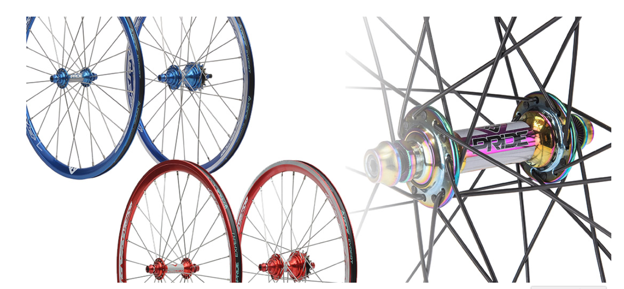 RIval Expert V2 Wheelset - Pride Racing Parts