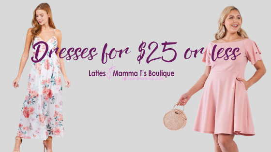 Buy Inexpensive Dresses for $25 or Less