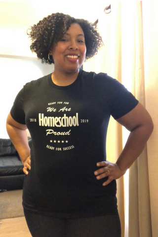 Homeschool mom shirt, homeschool proud