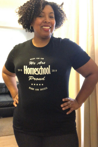 Homeschool proud Logo T-Shirt