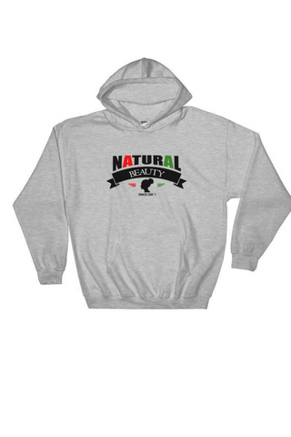 Natural beauty logo hoodie