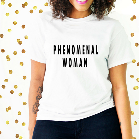 Phenomenal woman shirt for mother's day