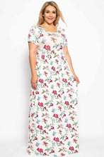 Adorable Floral Summer Sun Dress