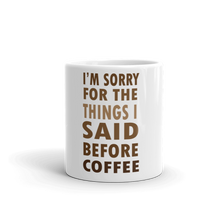Coffee meme mug 11oz front view