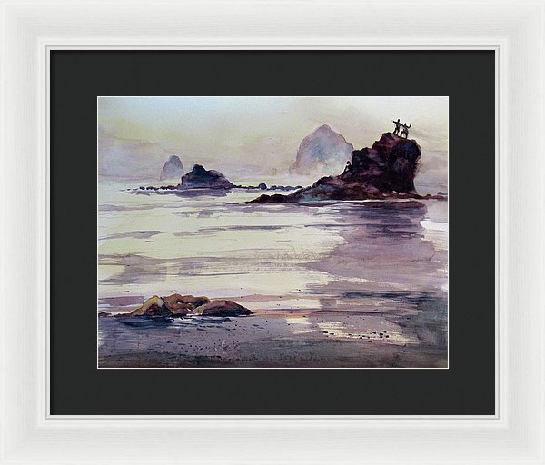 Dancing And Dreaming - Framed Print