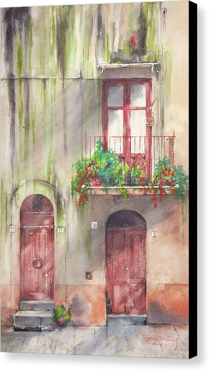 Doorways - Canvas Print