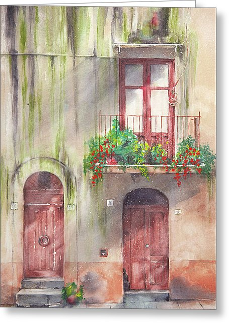 Doorways - Greeting Card