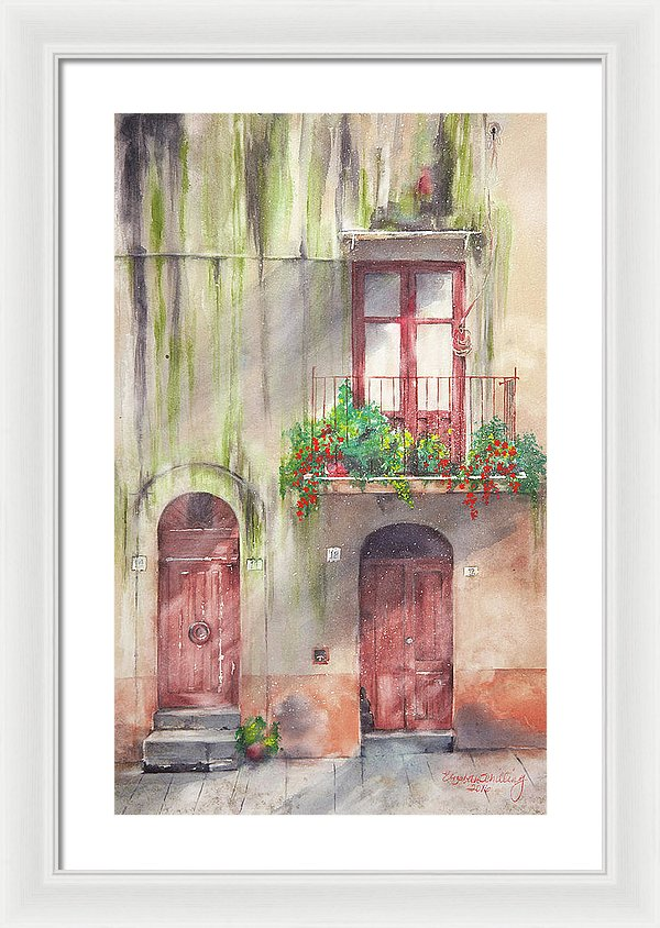 Doorways - Framed Print