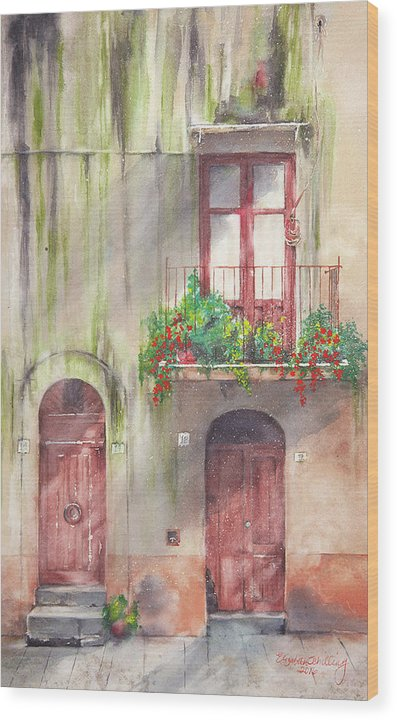 Doorways - Wood Print