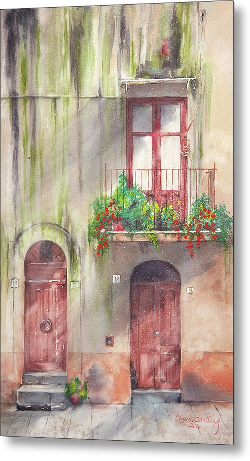 Doorways - Metal Print