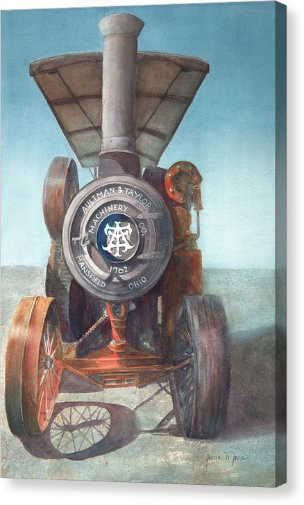 1762 Steam Tractor - Canvas Print