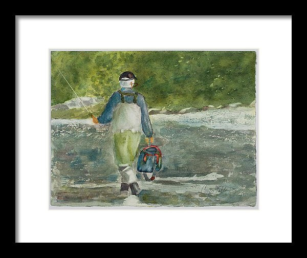 Fishing Heaven - Framed Print