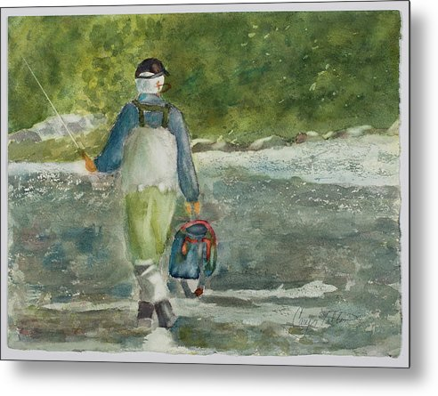 Fishing Heaven - Metal Print