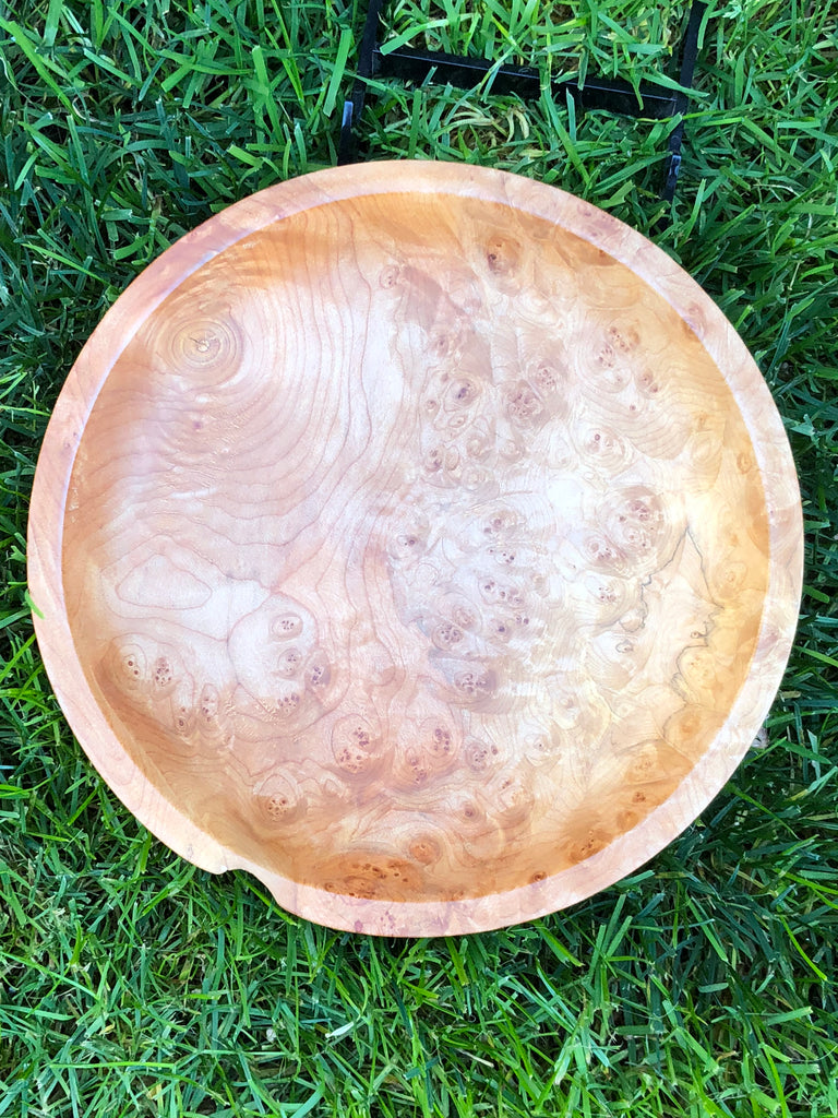Maple Burl Dish