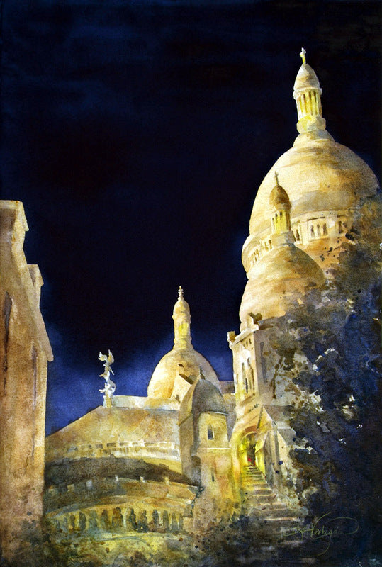 Midnight At Sacre Coeur