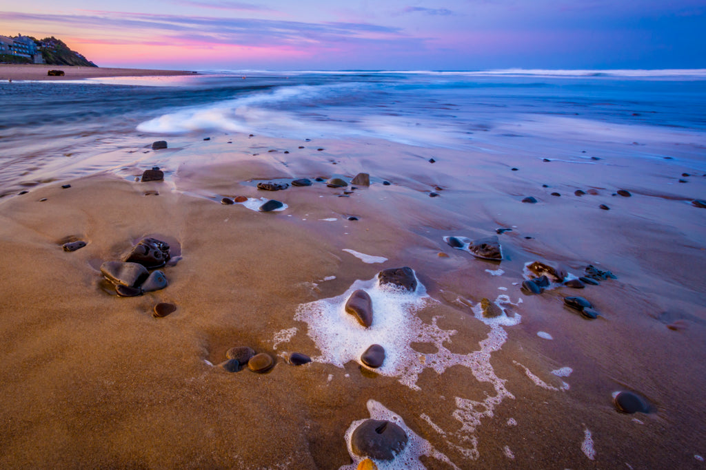 Surf and Stones at Sunrise