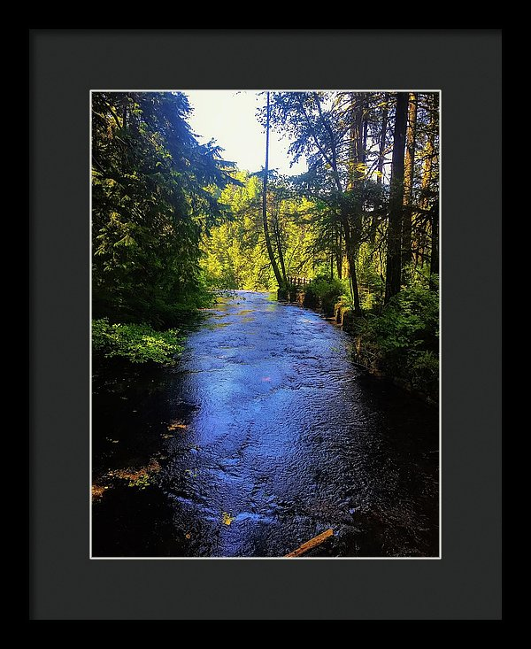Before The Fall  - Framed Print