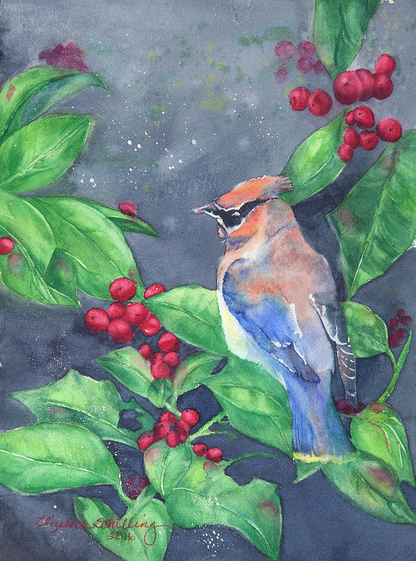 Bird In The Bush - Art Print