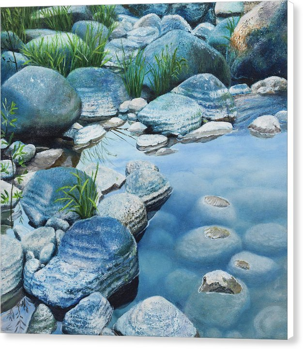 Blue Pool - Canvas Print