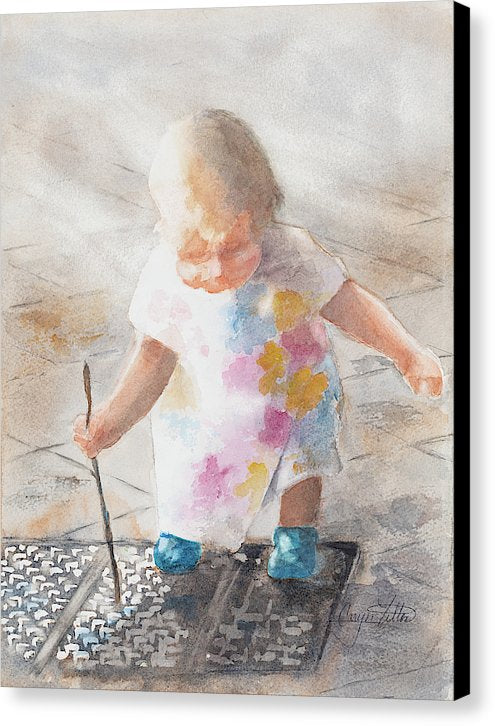 Child's Play - Canvas Print