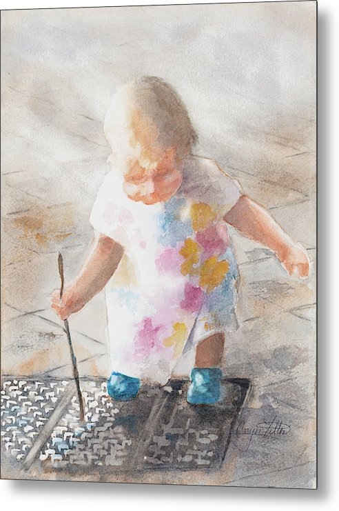 Child's Play - Metal Print