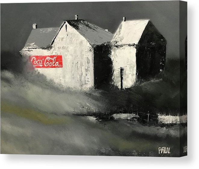 Coke - Canvas Print