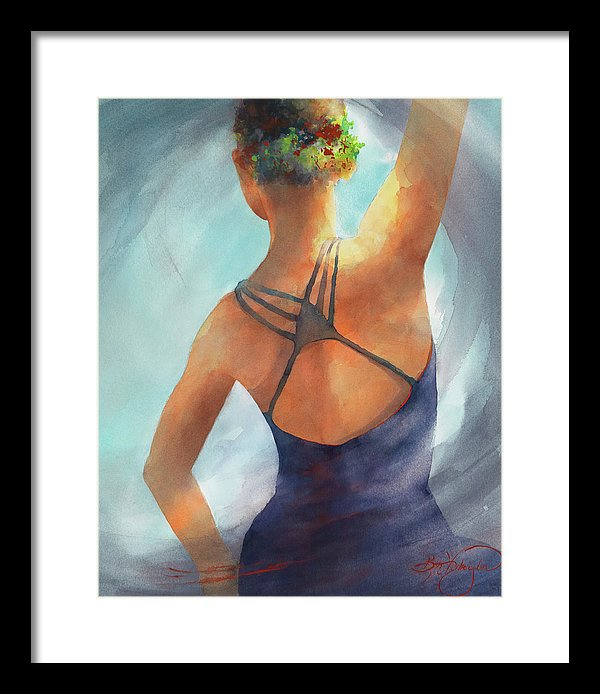 Determination - Framed Print
